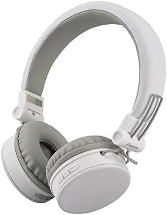 オーム Bluetooth対応 ダイナミック密閉型ヘッドホン(ホワイト)AudioComm OHM HP-W300N-W(03-2861)