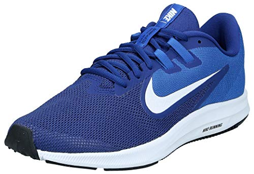 NIKE Herren Nike Downshifter 9 Schuh, Blau (Deep Royal Blue/White/Game Royal/Black 400), 46 EU