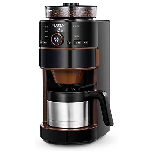 HIZLJJ Kaffeevollautomat Kaffeevollautomat Italienisch Drip Kaffeemaschine Haushaltsklein Eine Maschine Vollautomatische Kaffeemaschine for Gewerbe