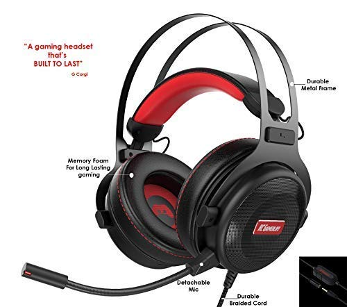 Gaming Headset with Microphone |...