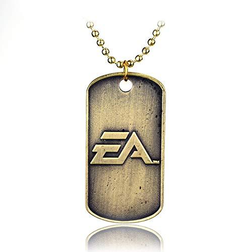 Heißes Spiel Battlefield 4 Dog Tag Military Card Halskette Bf4 Metalllegierung Anhänger Schmuck Für Armee Fans Souvenirs