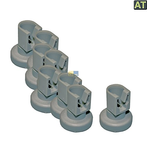 Korrol bovenste korf vaatwasser 8 stuks zoals Electrolux AEG Zanussi 5028696700/0