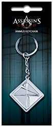 A metal key ring with raised and embedded details in brushed metal finish. 4cm in size plus 6cm chain & ring. Packed on blister card.