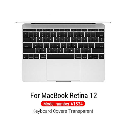 Silicone Keyboard Cover Protector Skin For Macbook Pro For Mac 15 Air 13 With Touch Bar Soft keyboard Transparent Case-Model A1534-