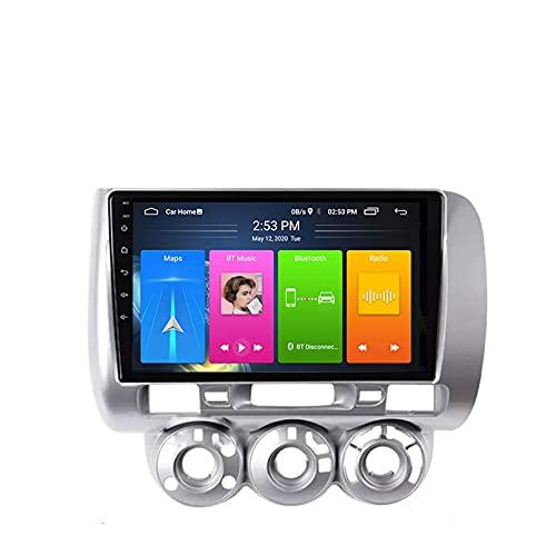 Android 10.0 Autoradio per Honda Fit Jazz 2004 2005 2006 2007 Auto Car Stereo GPS Navigazione Touch Display Auto Media Player Double DIN Head ; Supporto WiFi Controllo Volante(4G+WiFi,2+32G)
