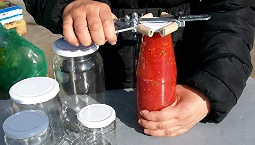 Professional Cooking Pinza Domus Stringi, Avvita Svita Tappi Regolabile Tappi, Vasetti, Barattoli Tutte Le Misure
