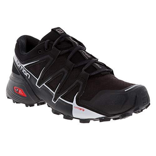 SALOMON Men's Speedcross Vario 2 Running Shoes (Black)