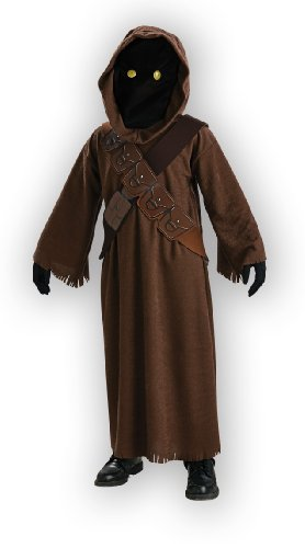 Star Wars Jawa Costume with Light Up Eyes - One Color - Medium