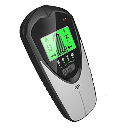 Scanner Stud Finder,Ortungsgerät 4 and 1 Metalldetektor Wand LCD- Anzeige Leitungsfinder Leitungssucher für Holz Stromleitung Metall