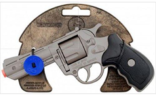 Revolver Police Gonher 8 Coups Métal A Amorces Ref 3033