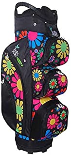 Birdie Babe Woodstock Flowered Ladies Golf Cart Bag