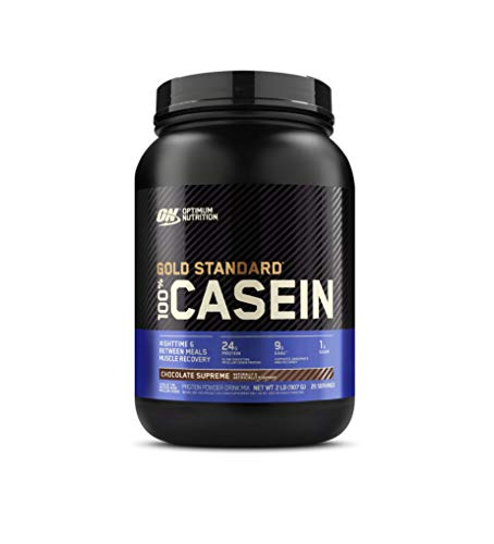 Optimum Nutrition Gold Standard 100% Micellar Casein Protein Powder, Naturally Flavored Chocolate Creme, 2 Pound (Packaging May Vary)