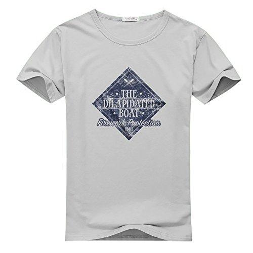 Dilapidated Boat - Matt Hardy for Men Printed Short Sleeve Tee T-shirt