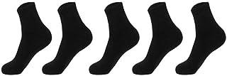 UKKO, Calcetines 5 Pares De Otoño Hombres Grises Negros De Algodón Calcetines De Invierno Cálido Calcetines De Vestir Casual De Los De Harajuku Tubo Para Hombres Regalo