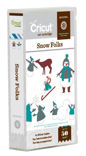 Cricut Snow Folks Seasonal Cartridge
