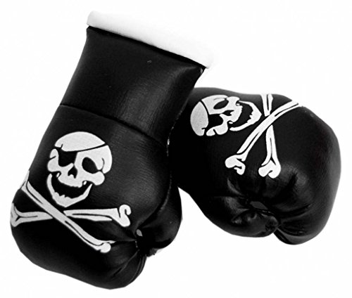 Doktor Hardstuff Mini Boxhandschuhe - Totenkopf