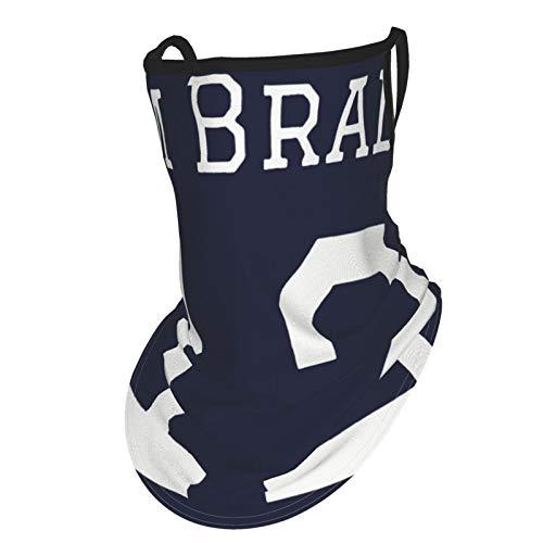 Pasamontañas Tom Brady con protección UV, resistente al viento, transpirable, para ciclismo, senderismo, para hombres y mujeres