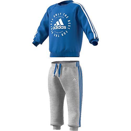 adidas 3 Stripes Jogger, género, (True Blue/White), 98