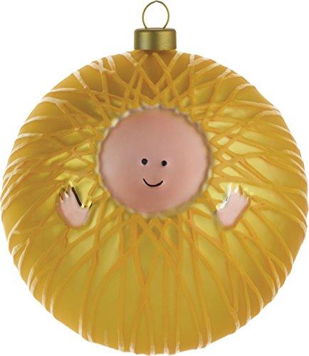 Alessi AMJ13 1 Gesù Bambino Palla Per Albero Di Natale, Vetro Soffiato, Multicolore, 0.1X0.1X0.1 Cm