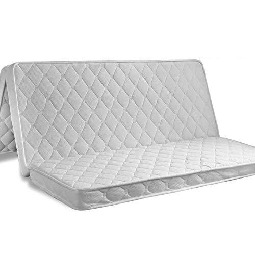 Save %17 Now! jhgsdh Tatami Tri-fold Mattress,Portable 3e Coconut Palm Mattress Pad Orthopedic Foldable Futon Mattress Firm Tatami Floor Mat-White King