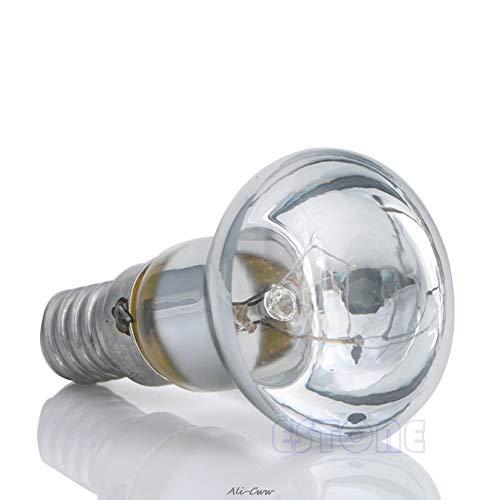 Bombillas incandescentes Claro Reflector Foco de luz Filamento 30W R39 Lámpara de lava Tornillo SES E14 Nuevo