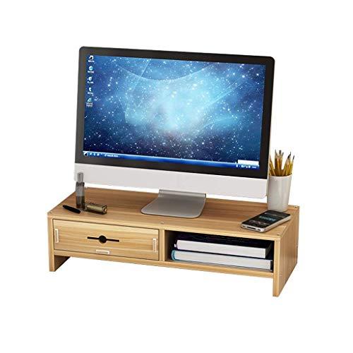 unknow Monitorständer, Storage Rack Office Desktop Tastatur Storage Storage Shelf Display-Hubgerüst Desktop-Computer-Bildschirm-Halter