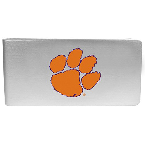 NCAA Siskiyou Sports Fan Shop Clemson Tigers Logo Money Clip Small Team Color