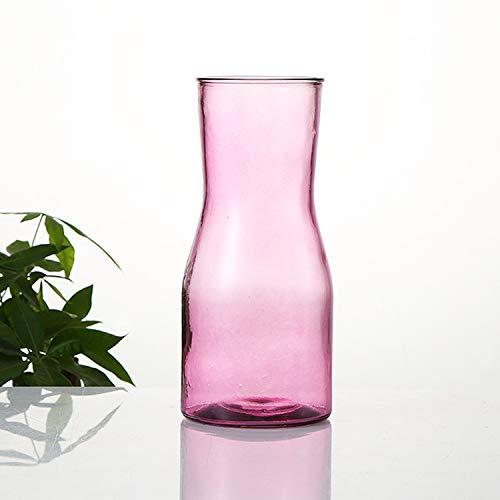Generisch Nordische Vase (Halber Hals Vase rot, 1 Packung)