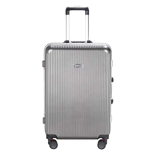 ZXJUAN PC materiaal eenvoudige trolley, zakenreizen bagage, scooter lopen rolling box, 20