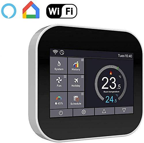 Electric-Underfloor-Heating-kit-150w-15m-Black-Smart-WiFi-Thermostat