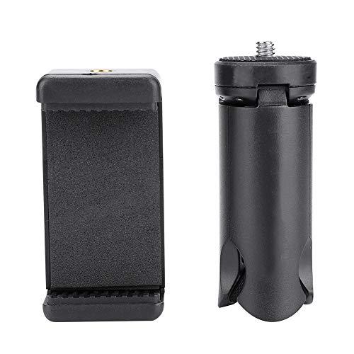 Telefoonstatief, Mini Smartphone Clamp Clip Mount Tripod, Clamp Tripod voor selfiestick, statief, monopod, antislipmat Statiefvoeten, 5 cm tot 8,5 cm telefoons