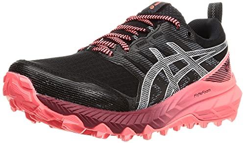ASICS Gel-Trabuco 9 G-TX, Zapatillas para Correr Mujer, Black Pure Silver, 44.5 EU