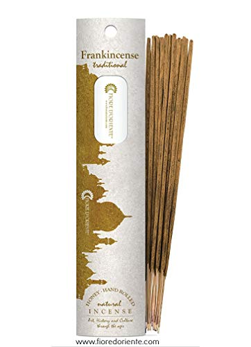 Frankincense Traditional Incense 10 Sticks – Natural and Handmade Products – Fleur d'Orient