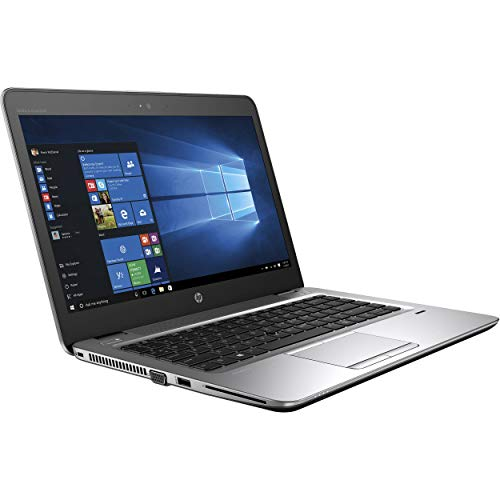 "HP EliteBook 840 G3 Laptop 14"" FHD Display, Intel Core i5-6300U 2.4Ghz, 256GB SSD, 16GB RAM, Webcam, WiFi, Windows 10 Pro with Docking Station (Renewed)"