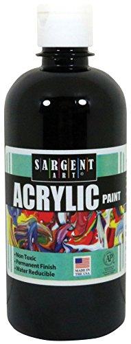 Acrylic Paint, Black