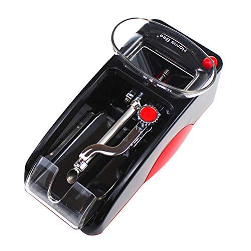Electrical Tabaco Grinder automática Tabaco Maker con 5 Piezas de aleación de Aluminio de Tabaco Holder/Especia Pipe/Hierba Humo Puller,Rojo