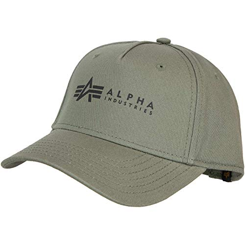 Alpha Industries Gorra. gris oscuro Talla única