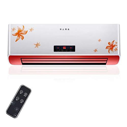 Calentador domésticos de Pared, pequeños de Pared, Impermeables de área Grande para baños, acondicionadores de Aire de calefacción de Alta Potencia de 2500 W