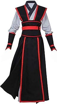 Grandmaster Demonic Cultivation Mo Dao Zu Shi Cosplay Chinese Wei Wuxian Juvenile Yiling Costume Hanfu  Female Size,S