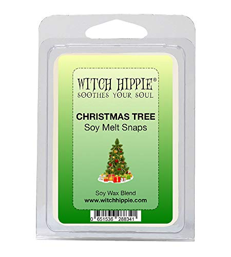 Christmas Tree Scented Wickless Candle Tarts, 6 Natural Soy Wax Cubes, , A Scent of Top Notes Of Pine AndFresh Fir Balsam; With Middle Notes Of Cardamom And Pepper; With A Base Note Of Scotch Pine