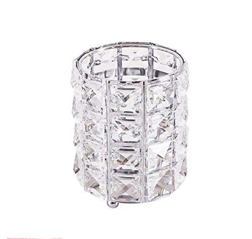 Lmz Fashion vrouwen make-up borstel gereedschap houder emmer cosmetica opslag kristallen doos collector potlood vaas