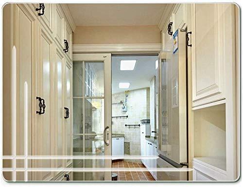 LHQ-HQ Creativa Personalidad de baño Espejo de Pared sin Marco Decorativo Espejo de baño (Tamaño: 45 * 60 cm)