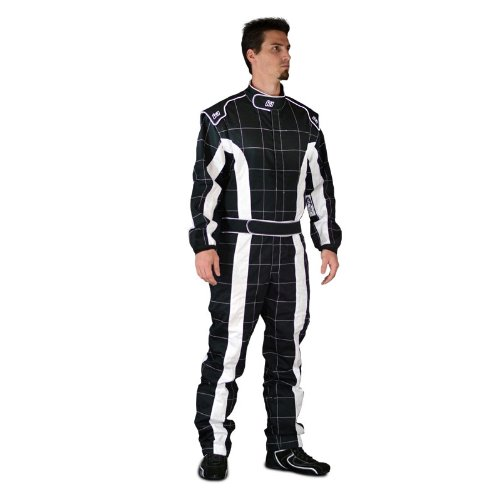 Amazon.com: K1 Race Gear 20-TRI-NW-XL Black/White X-Large ...