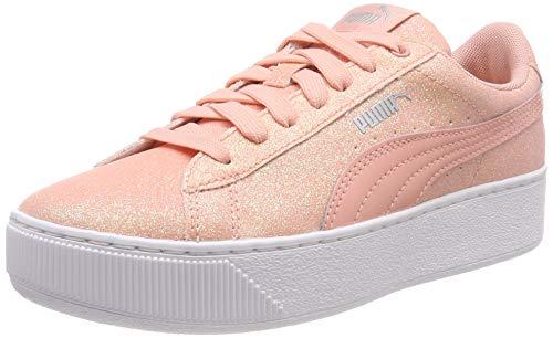Puma Puma Vikky Platform Glitz Jr, Mädchen Sneakers, Pink (Peach Bud-Peach Bud), 37 EU