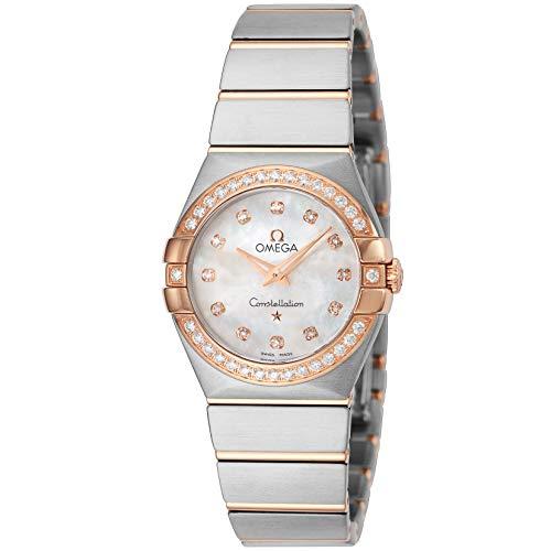 腕時計 OMEGA(オメガ) 123.25.27.60.55.001 ホワイトパール文字盤 レディース [並行輸入品]