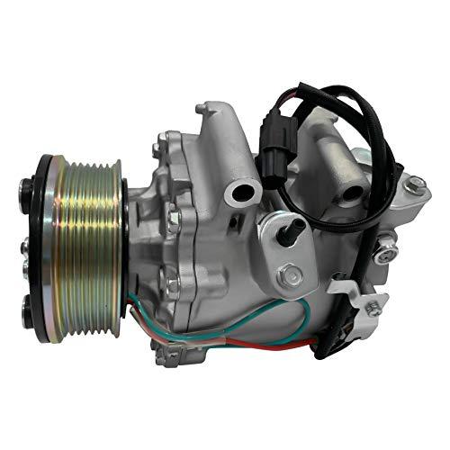 RYC New AC Compressor and A/C Clutch IH555 (Fits Honda Civic 1.8L 2006 2007 2008 2009 2010 2011)