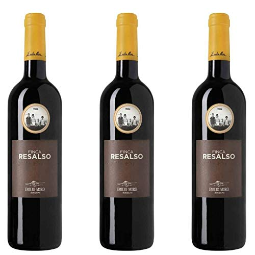 Finca Resalso Vino Tinto - 3 botellas x 750ml - total: 2250 ml