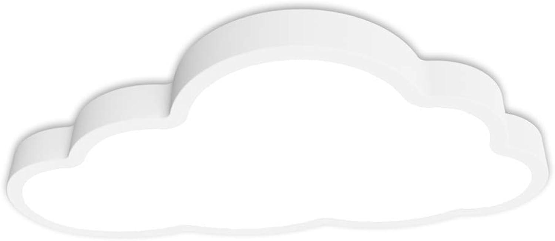LED Deckenleuchte, Deckenleuchten, 3000K Warmwei 5cm dick, 36W Wolkenform Niedliche Deckenleuchte für Jungen Mdchen Raumdekorationen Kinderzimmer Schlafzimmer Flur Büro Treppenhaus Esszimme