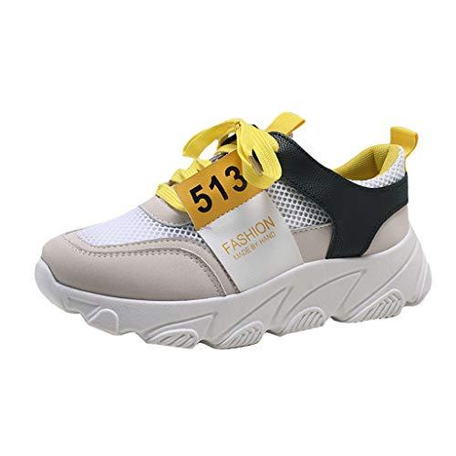 Vectry Mujer Verano Colores Mezclados Sandalias De Punta Redonda Zapatos Deportivos Casuales Zapatillas Deportivas para Exterior
