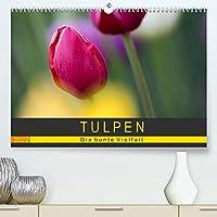 Tulpen - die bunte Vielfalt (Premium, hochwertiger DIN A2 Wandkalender 2022, Kunstdruck in Hochglanz): Tulpen bringen Farbe in unser Leben - und das nicht zu knapp. Dieser Kalender zeigt 14 bunte, kuenstlerisch in Szene gesetzte Motive (Monatskalender, 14 Seiten )